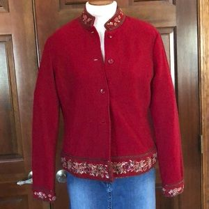 Talbots Boiled Wool Jacket